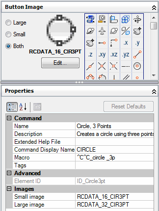 To assign a standard image to a command (Procedure) - AutoCAD