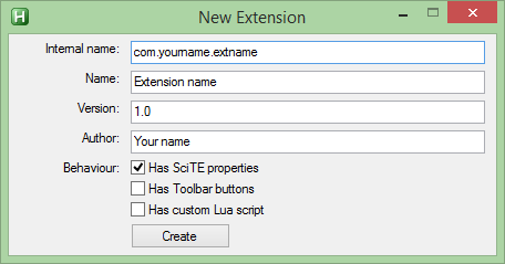 Extensions - AutoHotkey SciTE Documentation