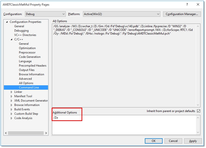 Microsoft Visual Studio - CodeXL Documentation