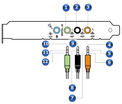 Stereo and 4-Pole Jack Diagrams - Creative Sound Blaster X-Fi Xtreme ...