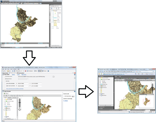 Publish a completed map to a MapGuide server - GIS Skills