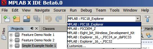 Demo Source Code Project for MPLAB X - MiWi Development
