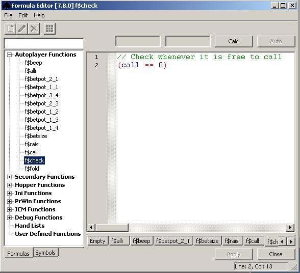 Converted document - OpenHoldem Documentation