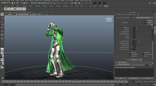 PhysX plugin for Maya - Vanda Engine 1 3 3 Documentation