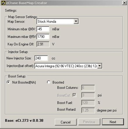 Creating a basemap - eCtune Documentation